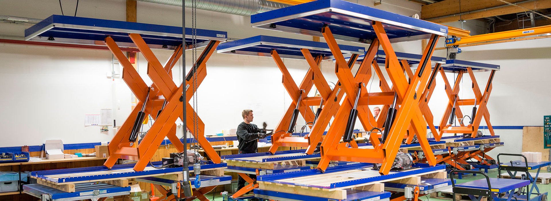 Scissor Lift Tables and Platforms