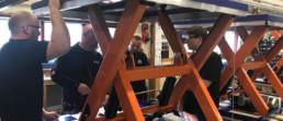 Manufacturing scissor lifts